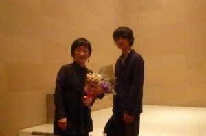 2009年にジョイントコンサートをした山田大輔さんも来てくれた