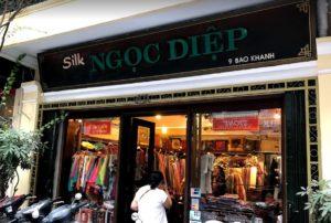 シルクスカーフの店