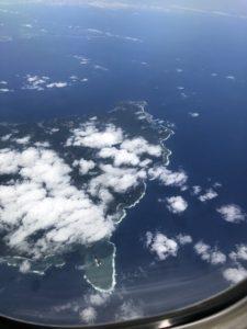 沖縄本島の真栄田岬付近